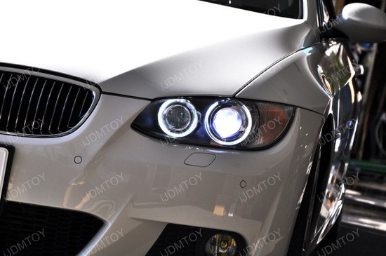 BMW LED Angel Eyes 335 02