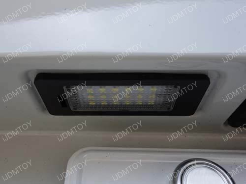 BMW LED License Plate Lamp 05