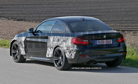 2016 bmw m2 coupe spy photo photo 3