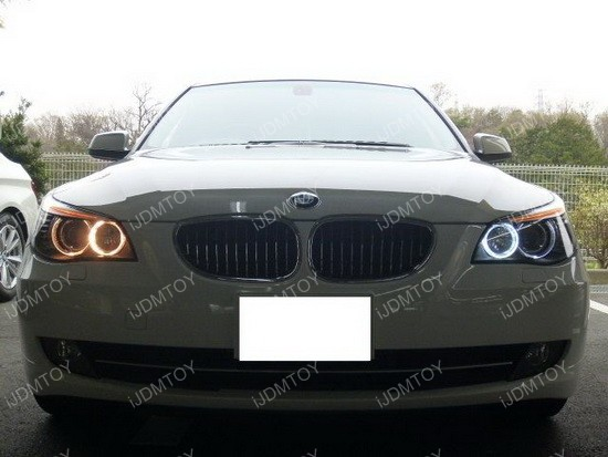 BMW 535i H8 Angel Eyes 01