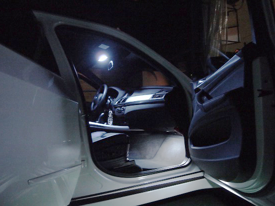 BMW LED Interior X5 02