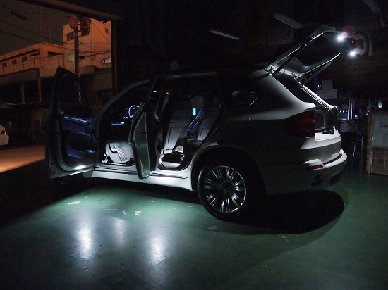 BMW LED Interior X5 04