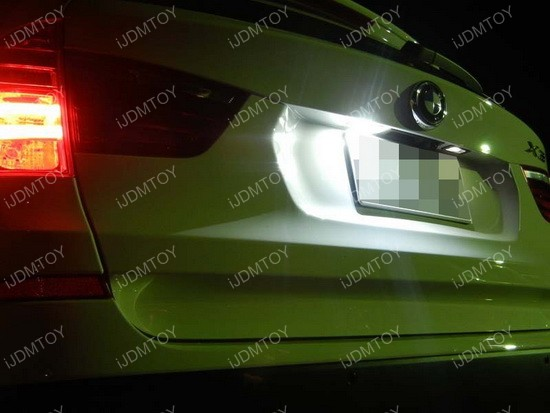 BMW LED License Plate Lamps 03