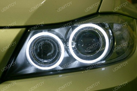 BMW LED Ring Marker Bulbs gold 01