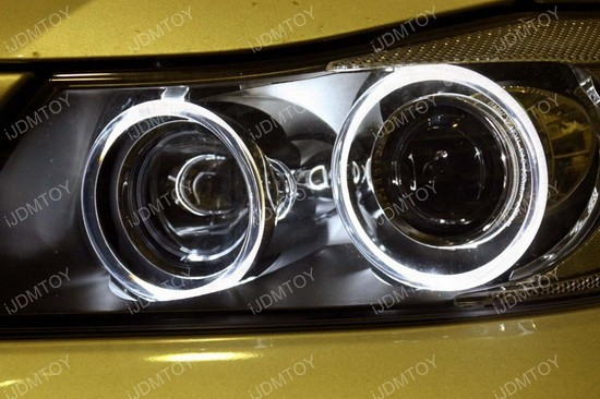 BMW LED Ring Marker Bulbs gold 02