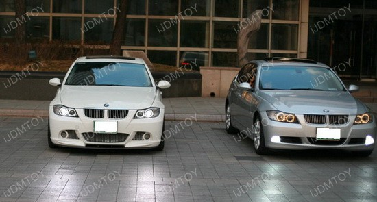 BMW E90 PreLCI Angel Eyes 01