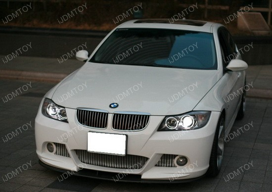 BMW E90 PreLCI Angel Eyes 07