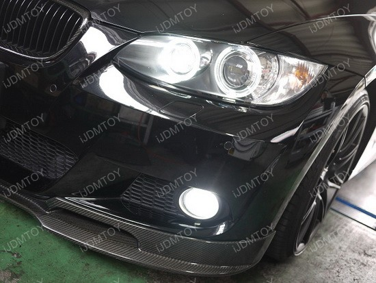 BMW Install LED Fog 03