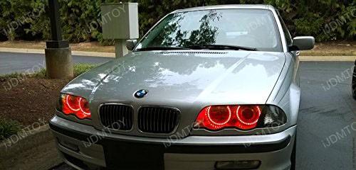 2nd Gen BMW RGB LED Halo Rings 01