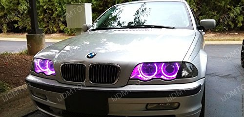 2nd Gen BMW RGB LED Halo Rings 02