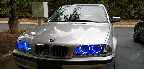 2nd Gen BMW RGB LED Halo Rings 04