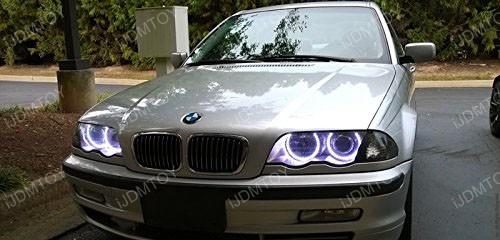 2nd Gen BMW RGB LED Halo Rings 05