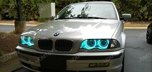 2nd Gen BMW RGB LED Halo Rings 06