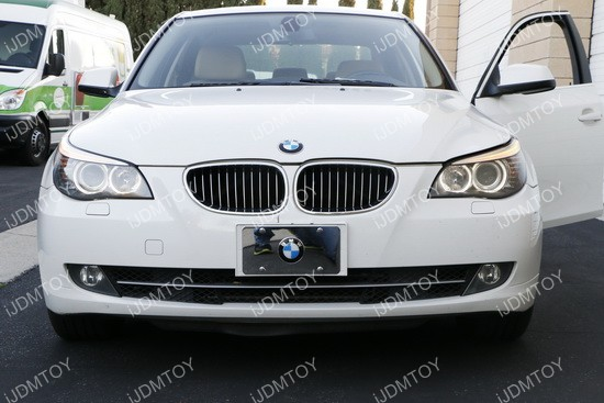 BMW 5 Series E60 LCI LED Halo Rings 03