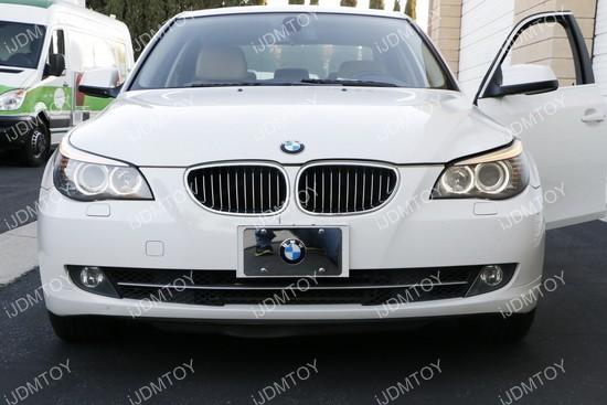 BMW 5 Series E60 LCI LED Halo Rings 03