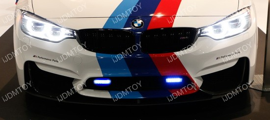 BMW LED Daytime Running Lights Universal 01