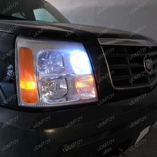 Cadillac Escalade LED Daytime Running Light Bulbs 1