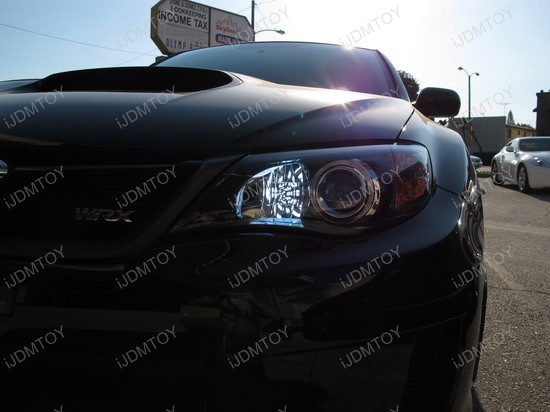 2010 - subaru - wrx - daytime - running - lights - 1