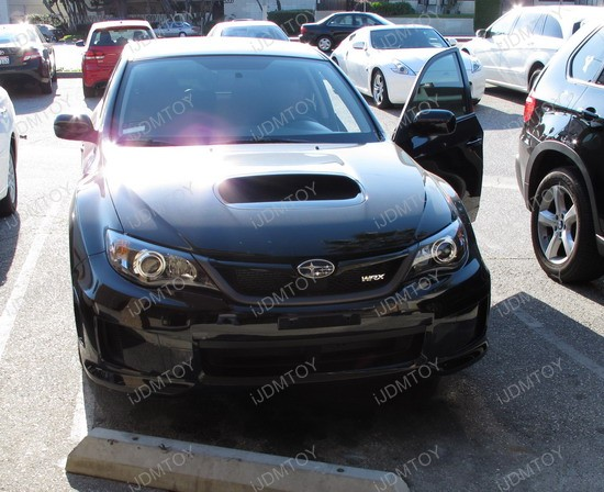 2010 - subaru - wrx - daytime - running - lights - 2