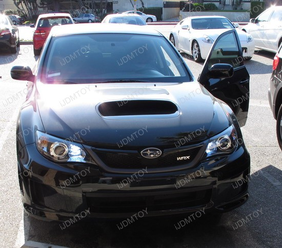 2010 - subaru - wrx - daytime - running - lights - 3