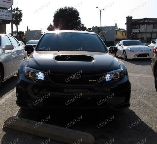 2010 subaru wrx daytime running lights