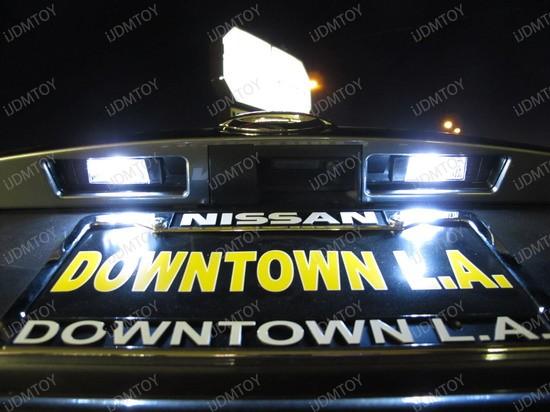 2011 - nissan - junk - licence - plate - lights - 5