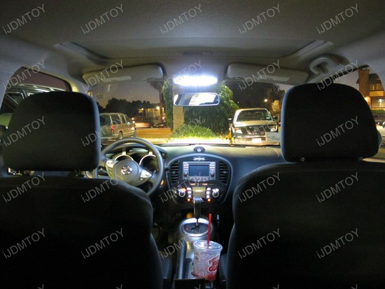 2011 - nissan - junk - led - interior - lights2