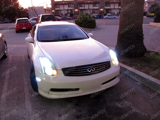 2004 - infiniti - g35 - coupe - 2825 - led - bulbs - 1