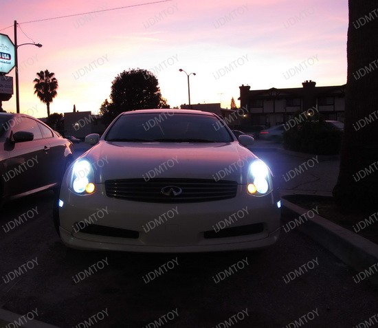 Led Sidemarker And Parking Lights Dress Up 2004 Infiniti