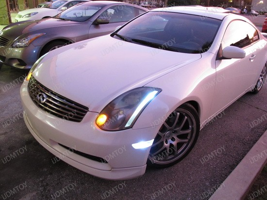 2004 - infiniti - g35 - coupe - 2825 - led - bulbs - 3