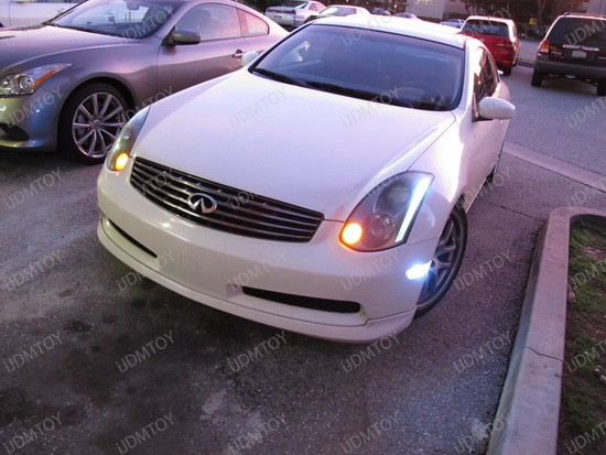 2004 - infiniti - g35 - coupe - 2825 - led - bulbs - 4