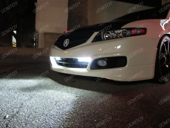 Super Bright LED Daytime Running Lights Perfect For Your Acura TSX - 2006 acura tsx headlights