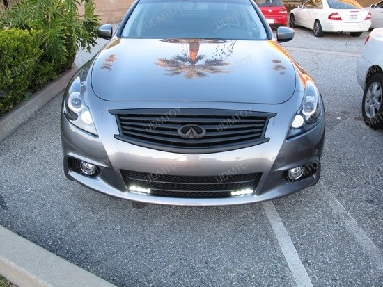 2011 - infiniti - g37 - sedan - led - daytime - running - lights - 3