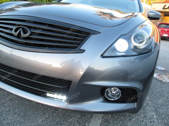 2011 - infiniti - g37 - sedan - led - daytime - running - lights - 6