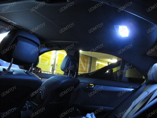 2009 - mercedes - c350 - led - interior - lights - 5