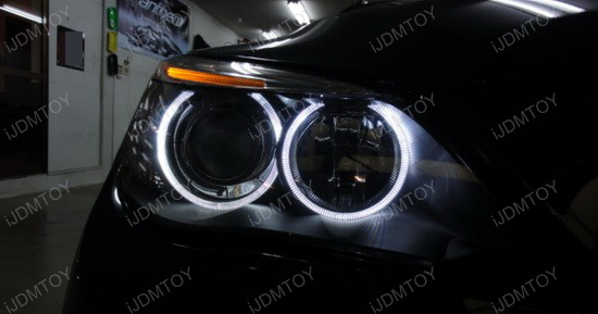 2006 - bmw - 525i - led - angel - eye - 2