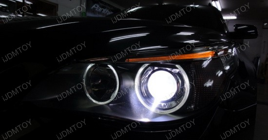2006 - bmw - 525i - led - angel - eye - 3