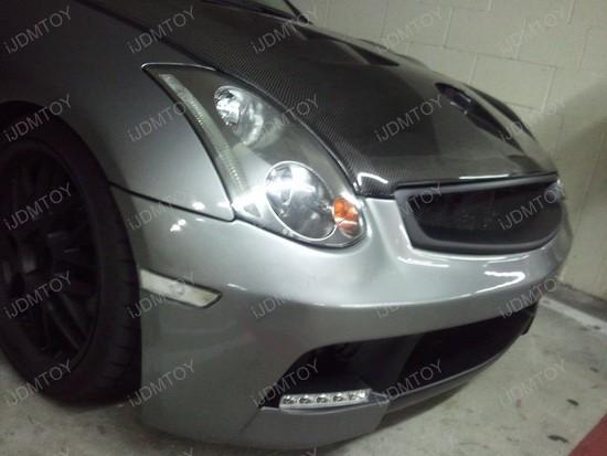2004 - infiniti - g35 - coupe - hella - ledayline - drl - 5