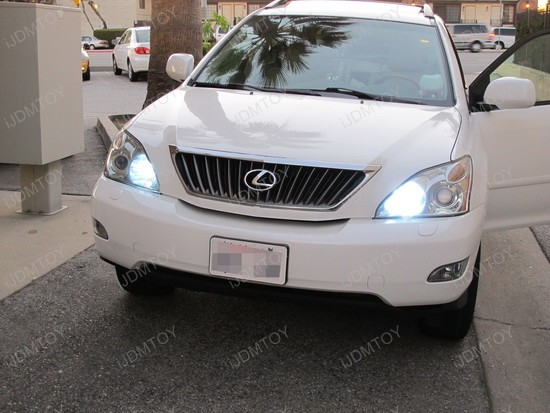 Install 9005 Led Daytime Running Lights For Lexus Rx330 Rx350