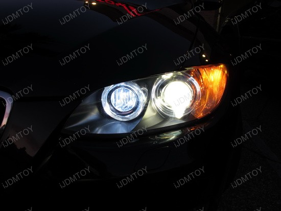 2009 - bmw - e92 - 335i - led - angel - eyes7