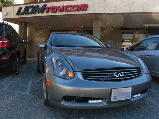 2004 - infiniti - g35 - daytime - running - lights - drl - 6