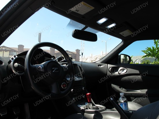 2011 - nissan - 370z - led - interior - lights - 2