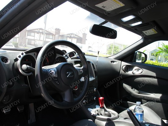 2011 - nissan - 370z - led - interior - lights - 3