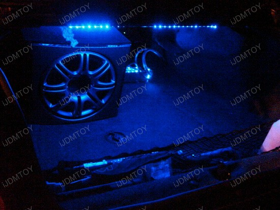 2005 - chevy - impala - led - strip - lights - 1