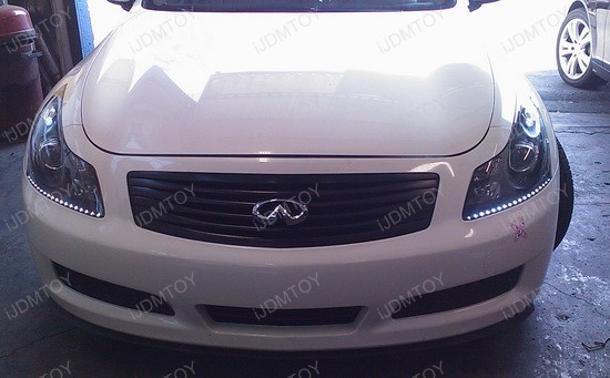 2008 - infiniti - g35 - audi - led - strips - 5