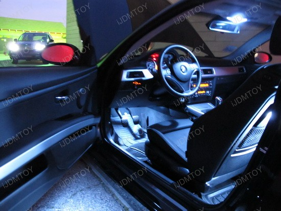 2009 - bmw - e92 - 335i - led - interior - lights - 1