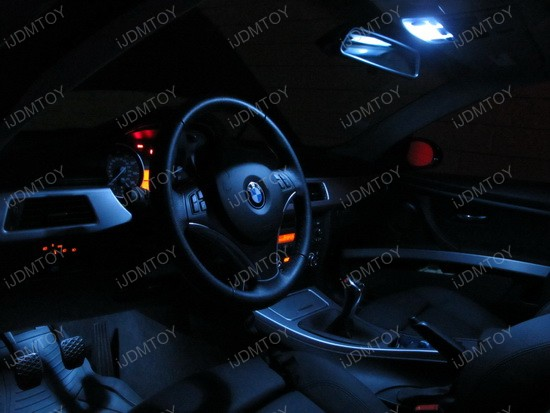 2009 - bmw - e92 - 335i - led - interior - lights - 3