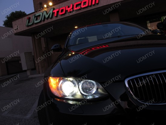 2008 - bmw - e92 - 335i - led - angel - eye - 2