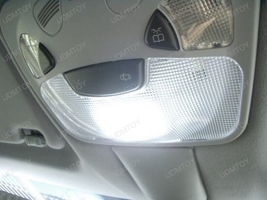 2006 - mercedes - benz - c320 - led - inteior - lights - 2