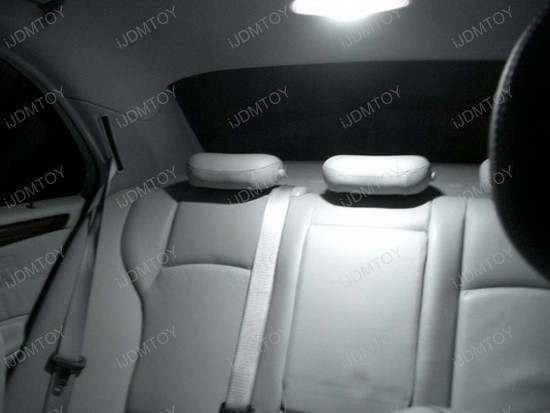 2006 - mercedes - benz - c320 - led - inteior - lights - 5